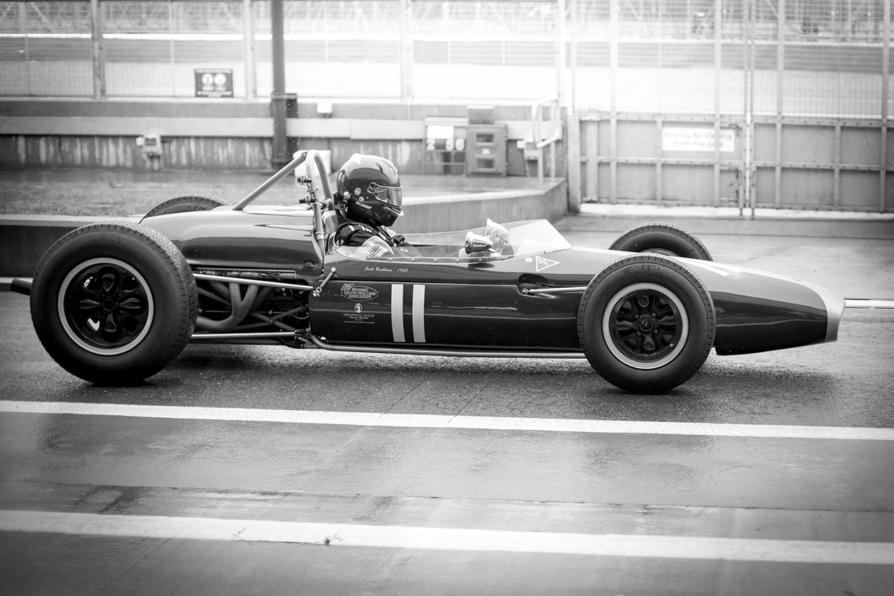 Traci Habergham Photography Silverstone Classic HGPCA Brabham BT11