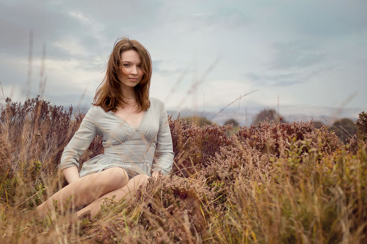 Traci Habergham Photography Model Portrait on Moors