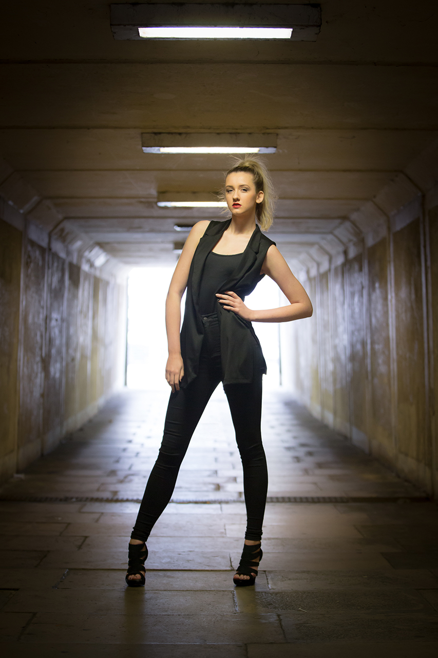 Traci Habergham Photography Halifax Model Portfolio Subway