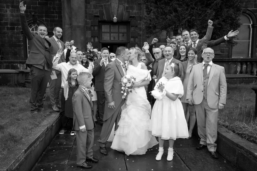 Traci Habergham Photography Halifax Wedding Group Shot