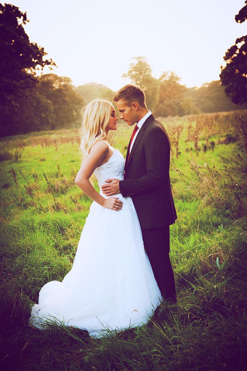 Traci Habergham Photography Rural Wedding Sunset