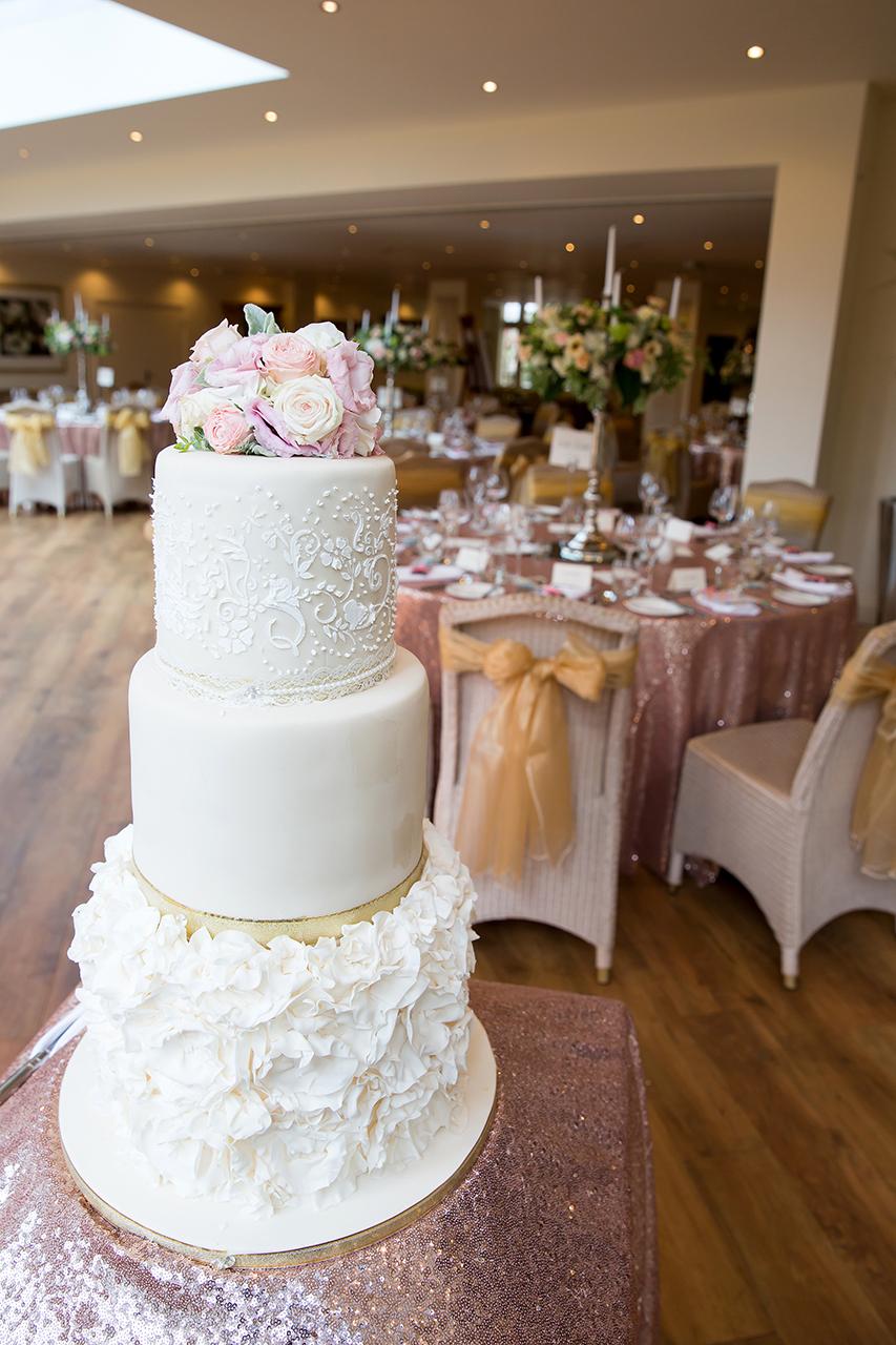 Traci Habergham Photography Wedding Cake and Room Decor