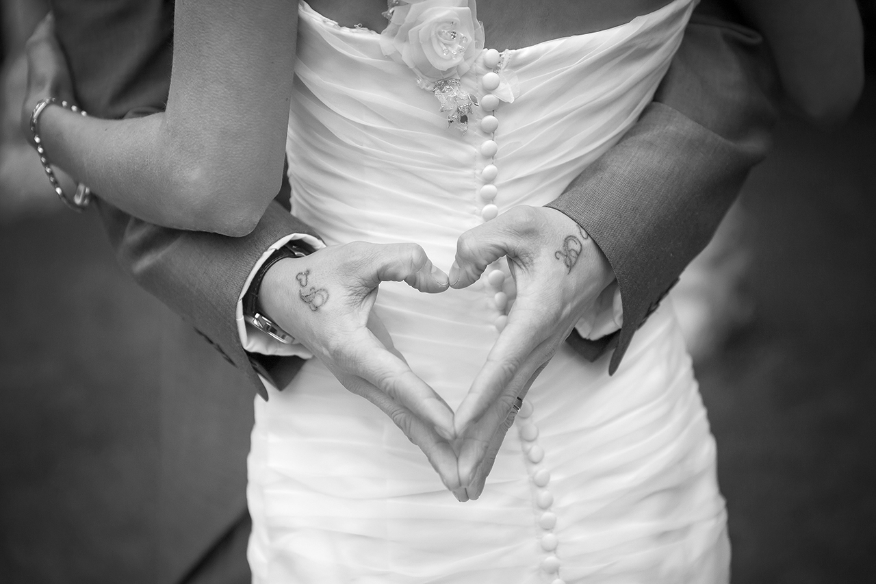 Traci Habergham Photography Wedding Heart