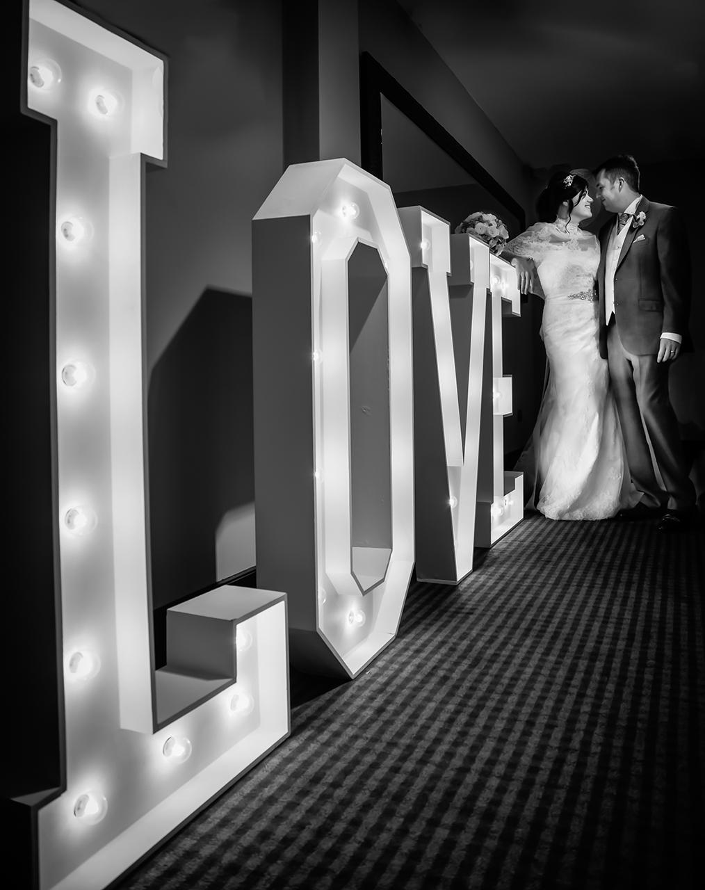Traci Habergham Photography Leeds Wedding LOVE Letters