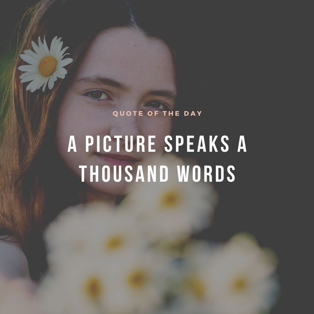 Brand Photographs - A picture speaks a thousand words
